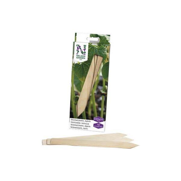 Nelson Garden 5992 Klebeetikett tre 22 cm, 10-pakning