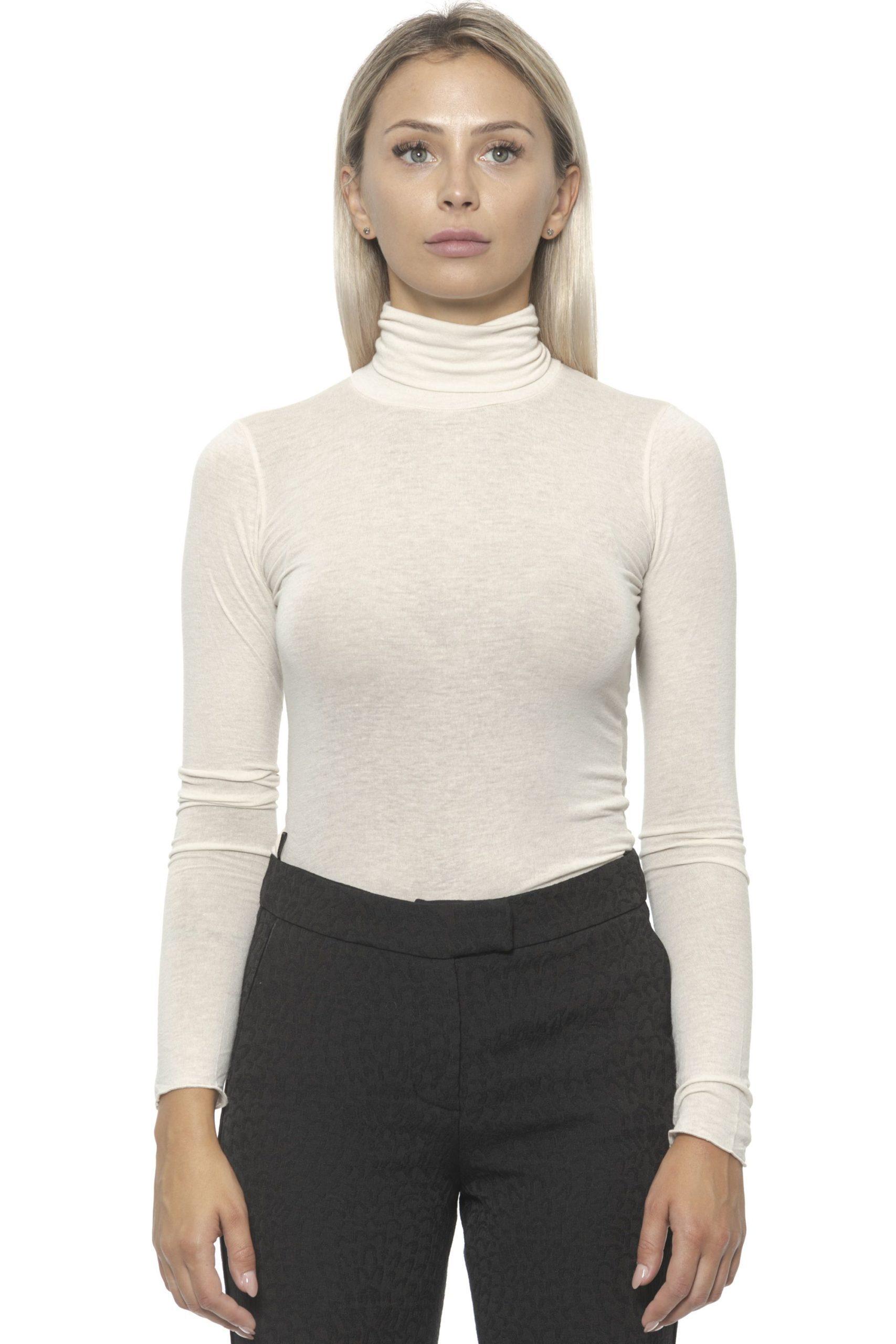 Alpha Studio Women's Sweater White AL1314772 - IT42 | S