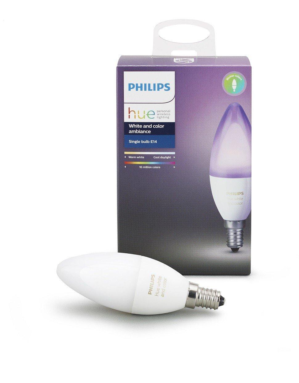 Philips Hue - Single Bulb E14 Richer Color - Bluetooth
