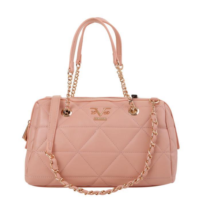 19v69 Italia Women's Handbag Various Colours 319004 - pink UNICA