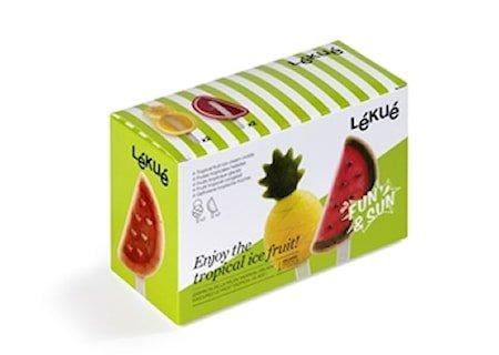 Glassform Tropical Fruit 4-pakning