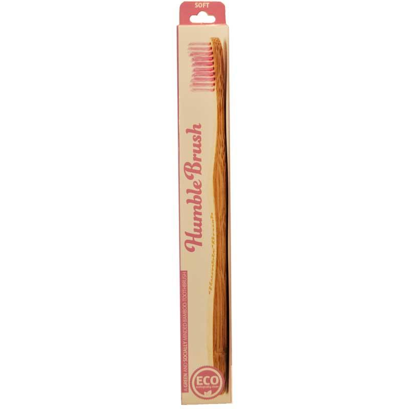 """Tandborste """"Humble Brush"""" Lila - 21% rabatt"""