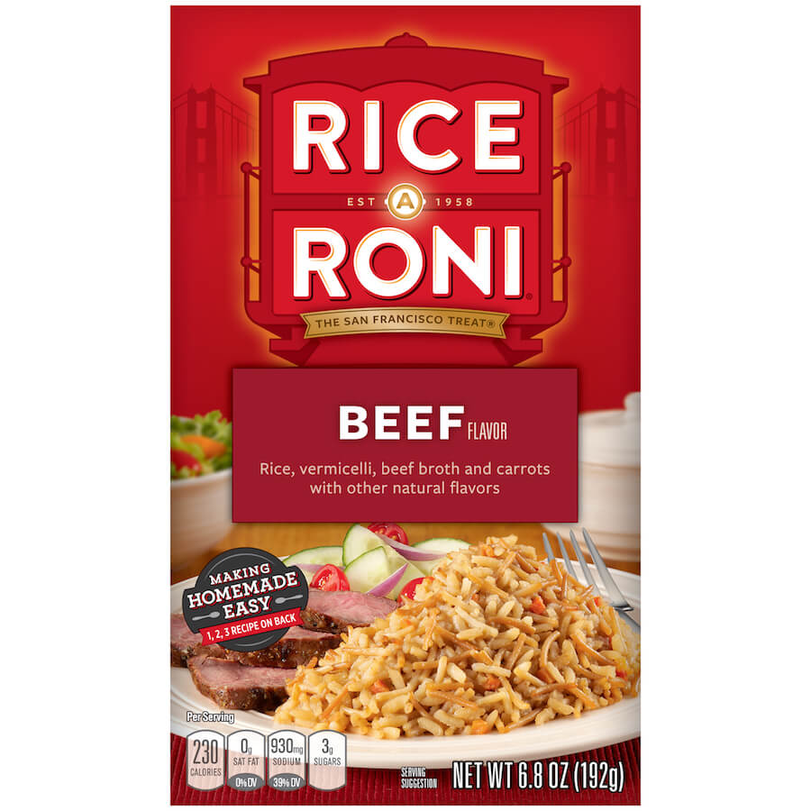 Rice A Roni - Beef 192g