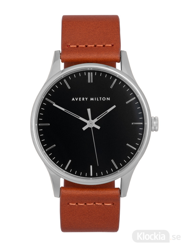 Avery Milton Como Brown Silver/Black 1194402220 Unisexklocka