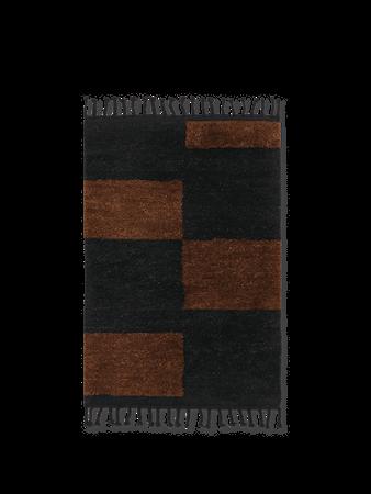 Mara Knuten Matta L -Black/Chocolate