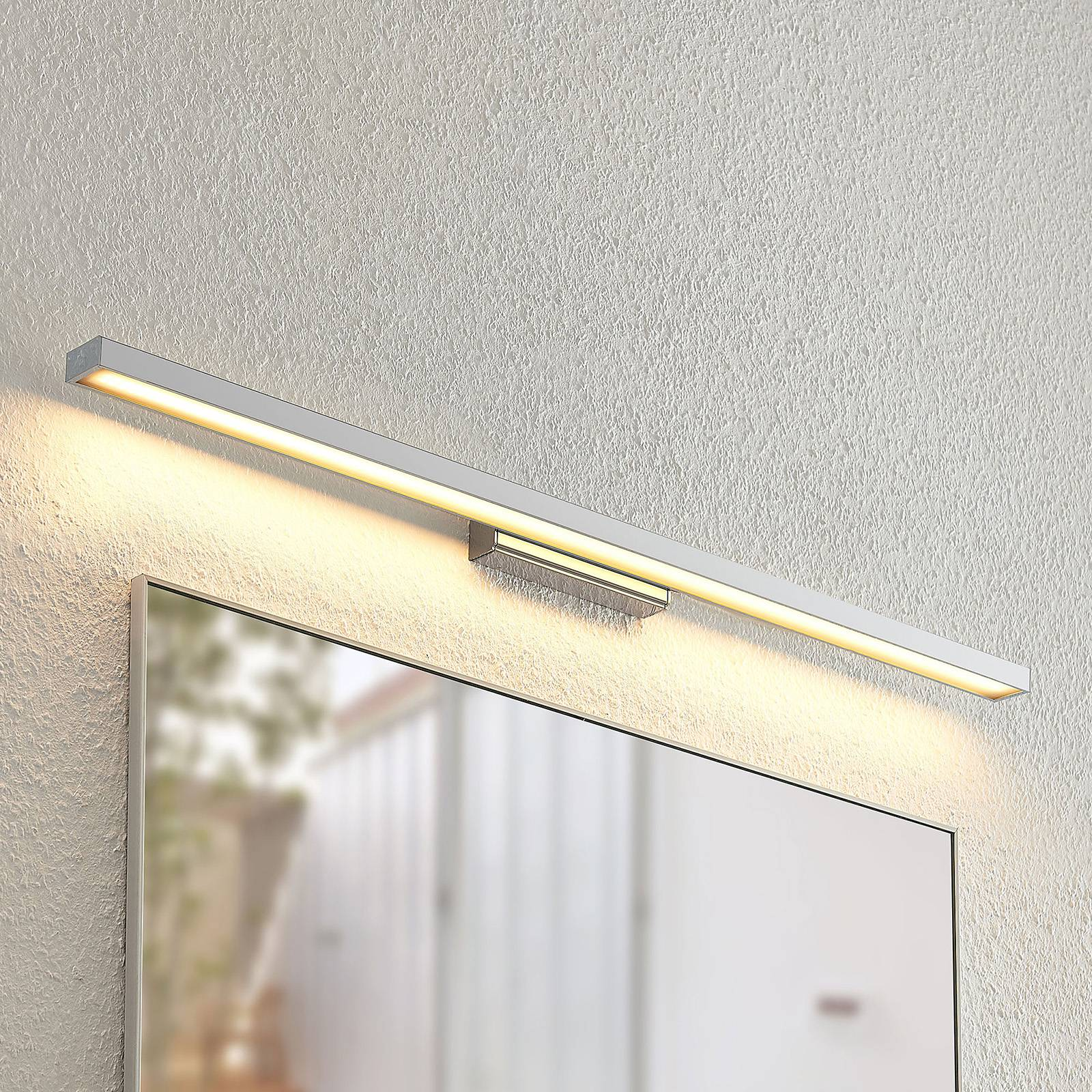 Lindby Alenia -kylpyhuoneen LED-peililamppu, 90 cm