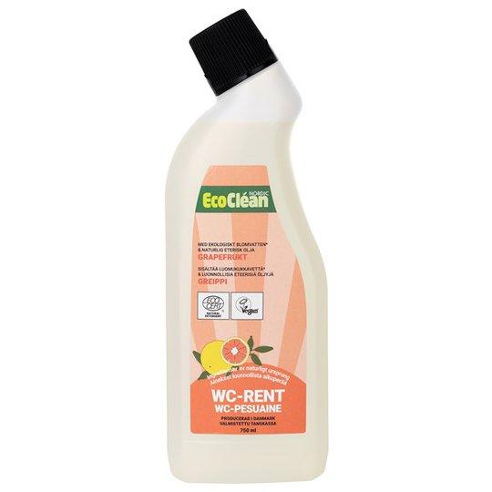 EcoClean Nordic Naturlig WC-rengöring Grapefrukt, 750 ml