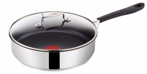 Tefal - Jamie Oliver Everyday Stainless Steel Sautepande - 25 cm (H8053374)