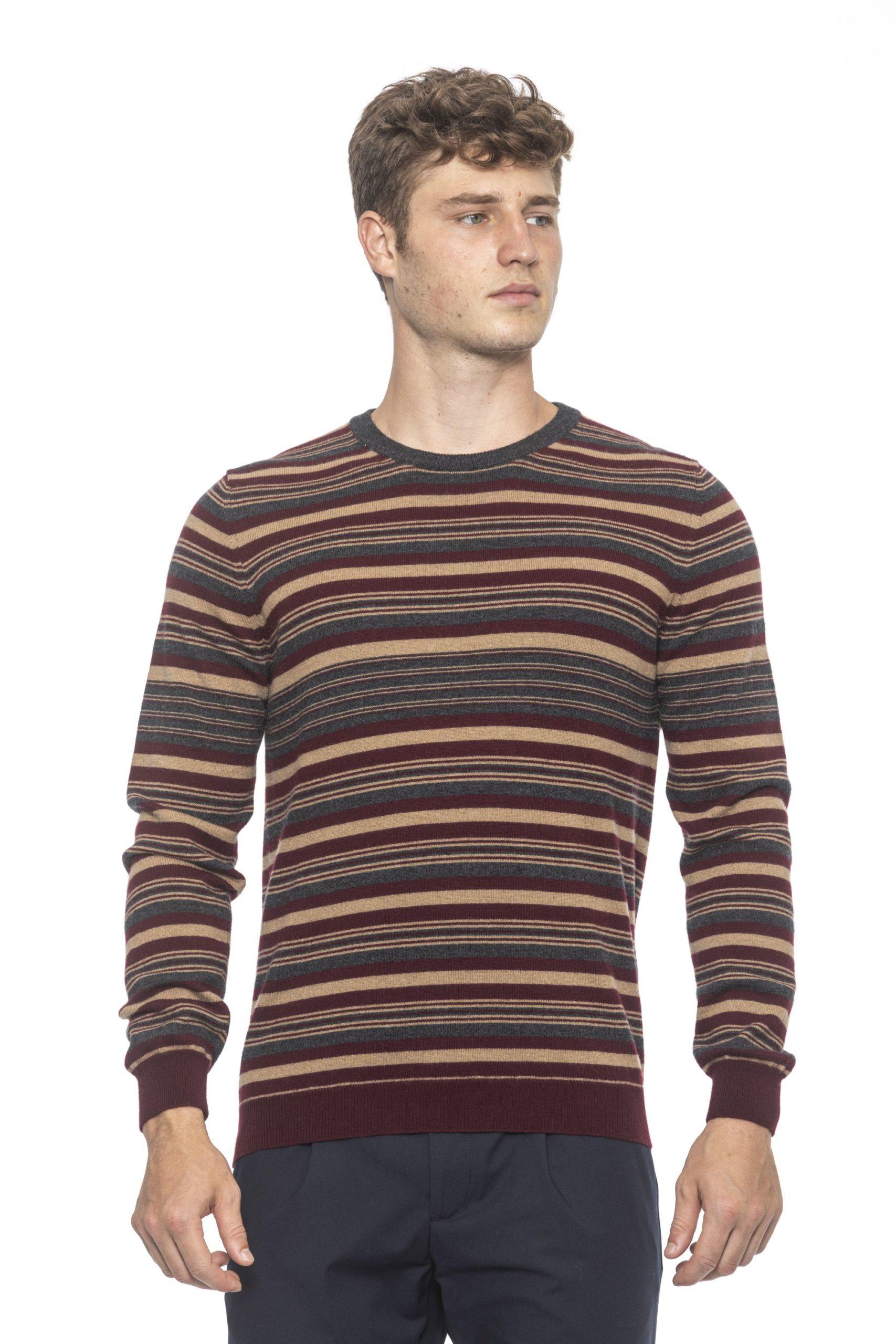 Alpha Studio Men's Mosto Sweater Brown AL1192002 - IT46 | S