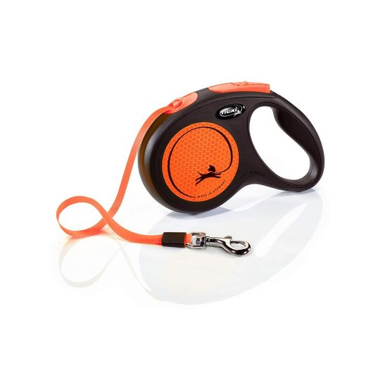 Flexi New Neon Medium 5 m band (Orange)