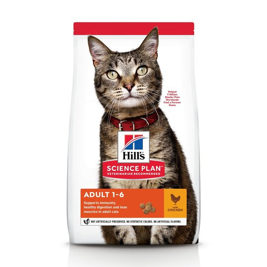 Hill's Science Plan Cat Adult Chicken (1,5 kg)