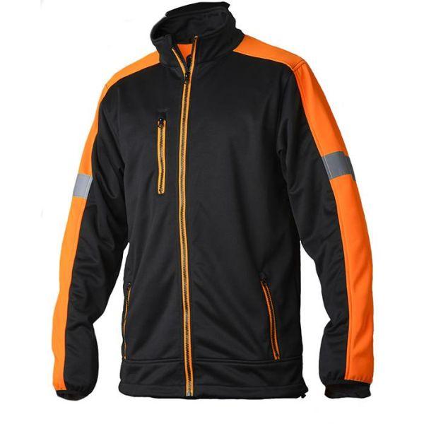 Vidar Workwear V70085203 Genser oransje/svart XS