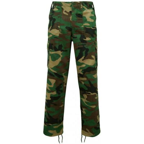"""Game Technical Apparel Men's Trouser Various Colours Cargo Trs - Woodland 42"""""""