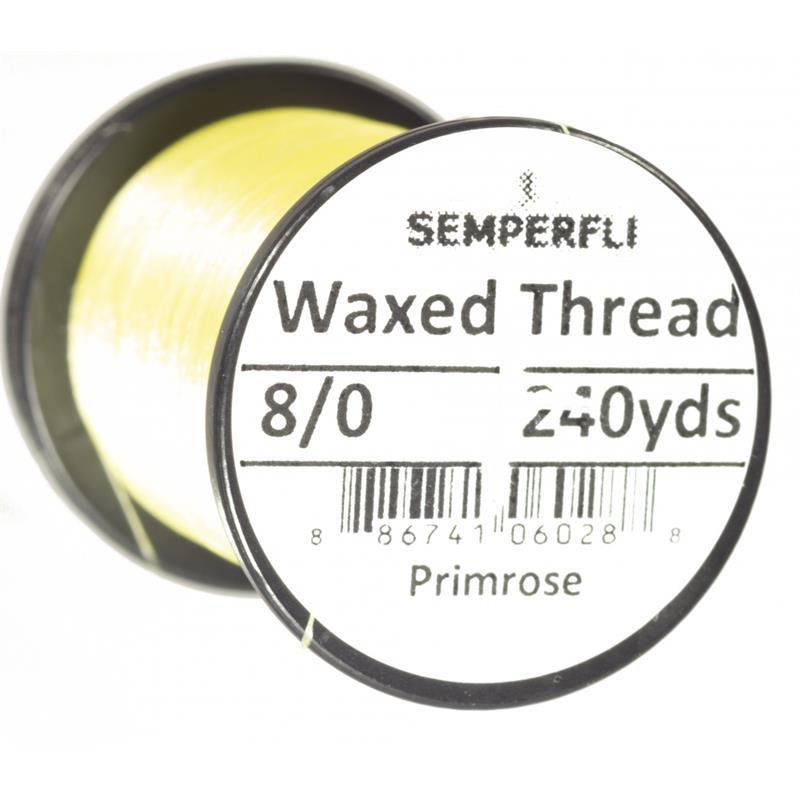 Semperfli Classic Waxed Thread Primrose 8/0