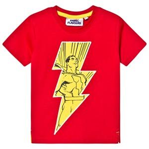 Fabric Flavours Shazam! I'm a Superhero T-shirt Röd 3-4 years