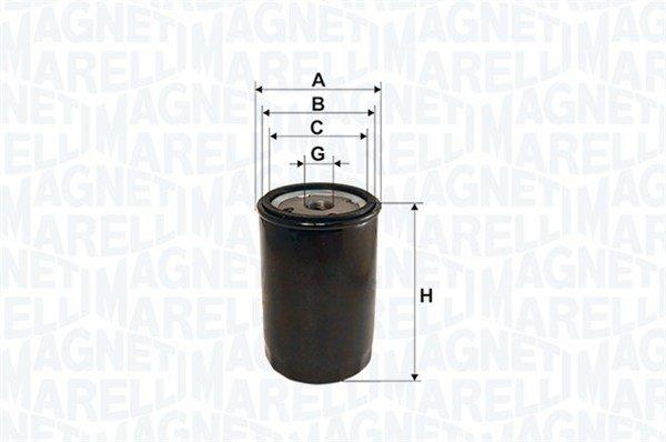 Öljynsuodatin MAGNETI MARELLI 152071758791