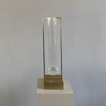 Tate Stor Vas Glas & Mässing