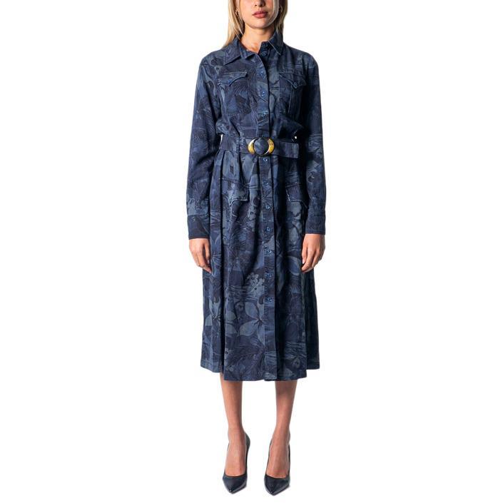 Desigual Women's Dress Blue 177493 - blue 34