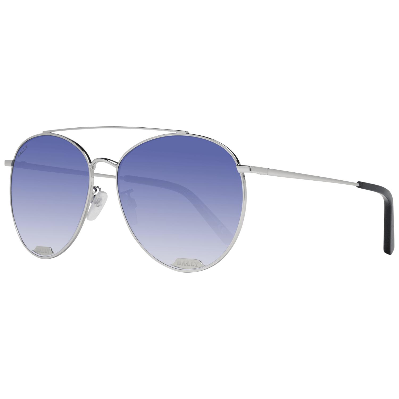 Bally Women's Sunglasses Silver BY0016-D 6018W