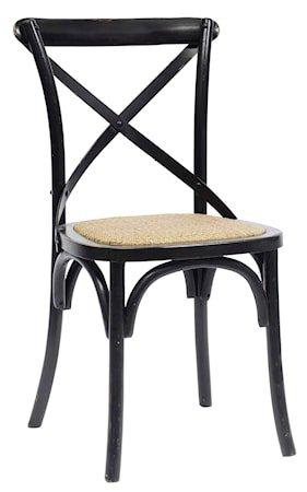 Dinner chair X - svart