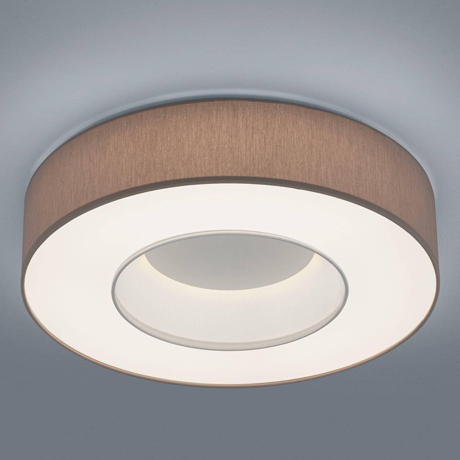 Helestra Lomo -LED-kattovalaisin, sintsi mokka