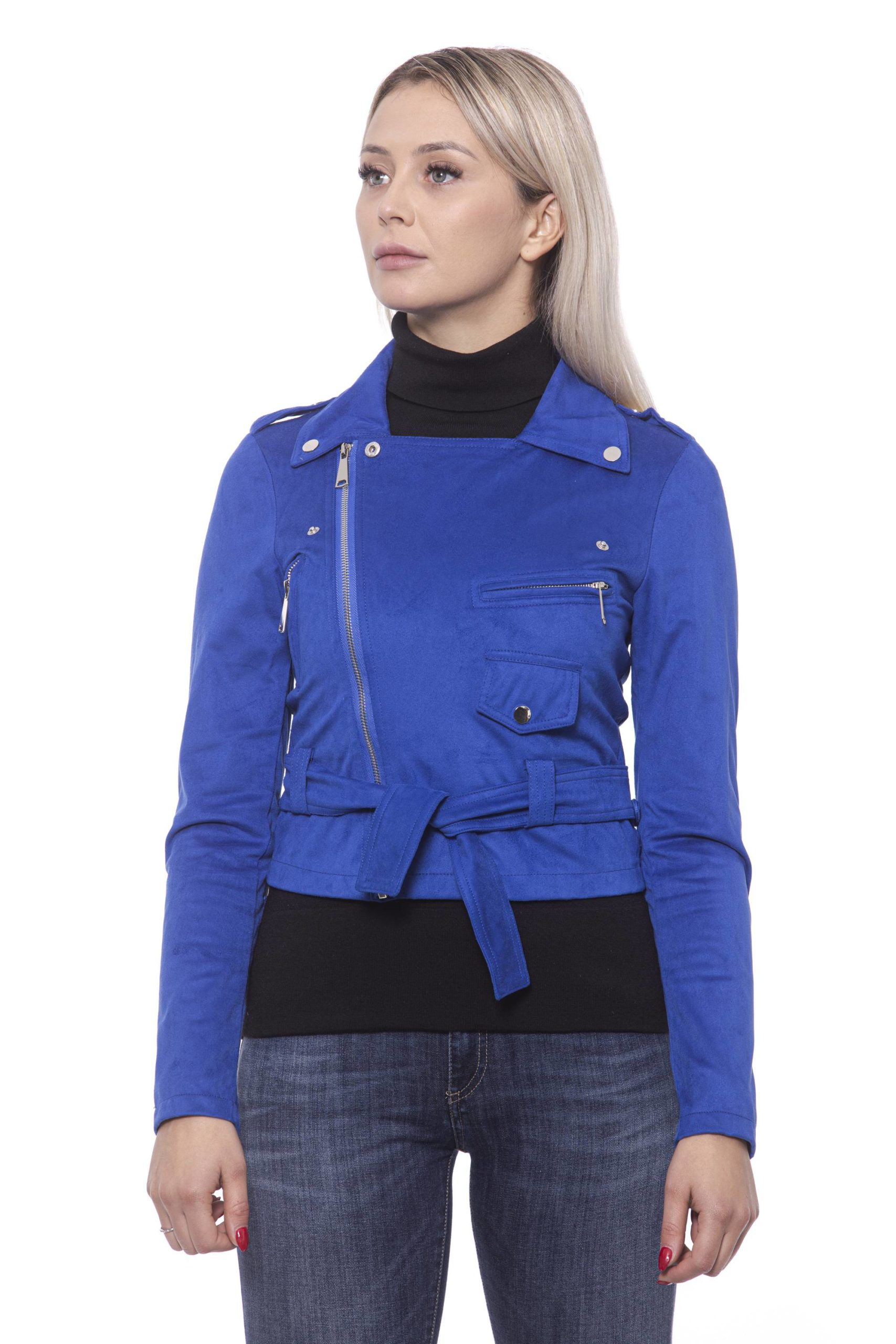 19V69 Italia Women's Jacket Blue 191388434 - IT42 | S