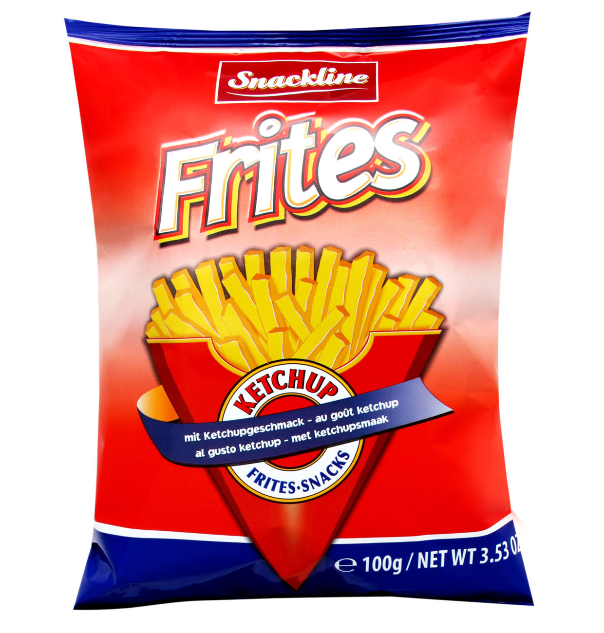 Snackline Frites-snacks with ketchup flavor 100g