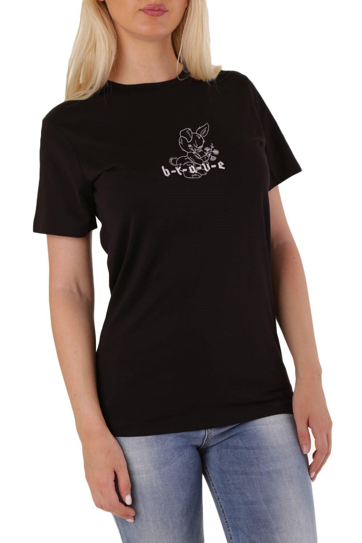 Diesel Women's T-Shirt Various Colours 302507 - black 2XS