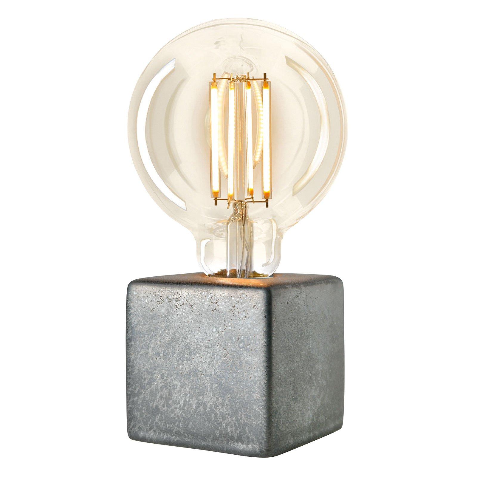 Villeroy & Boch Helsinki bordlampe grå