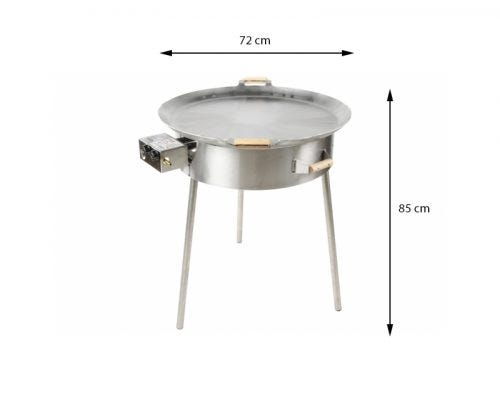 GrillSymbol Stekehelle Gass Pro-720
