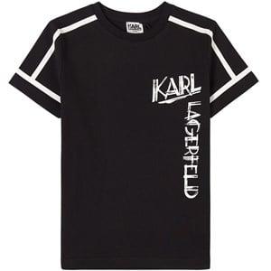 Karl Lagerfeld Kids Mini MeLogo Print T-shirt Svart 4 år