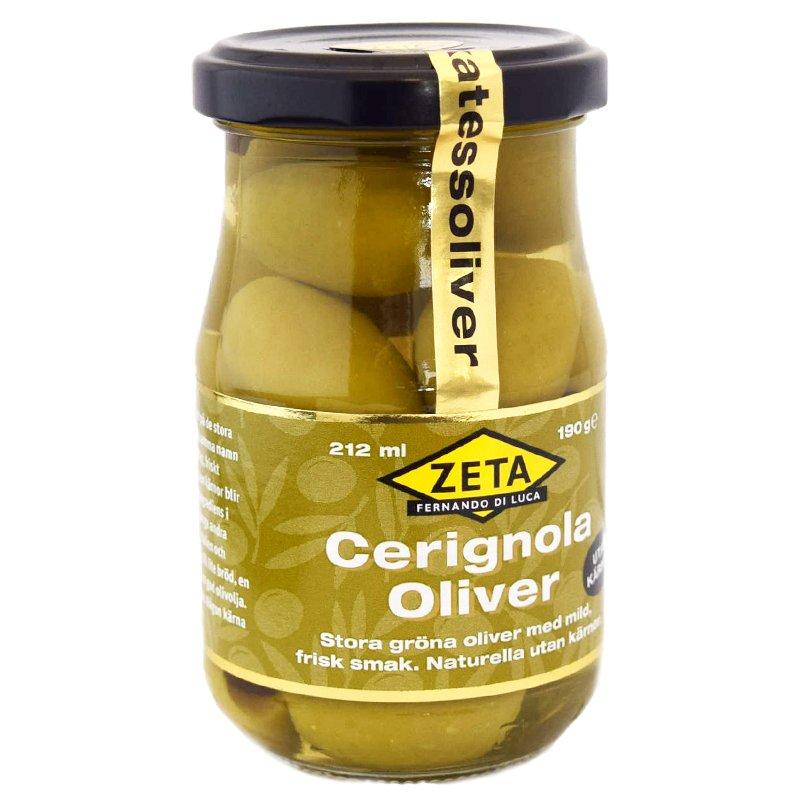 """Oliivit """"Cerignola"""" 190 g - 50% alennus"""
