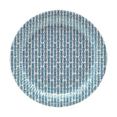 Papptallerkener 12 stk. Blå