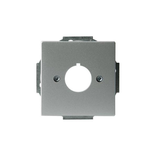 ABB Impressivo Midtplate 22.5 mm Aluminium