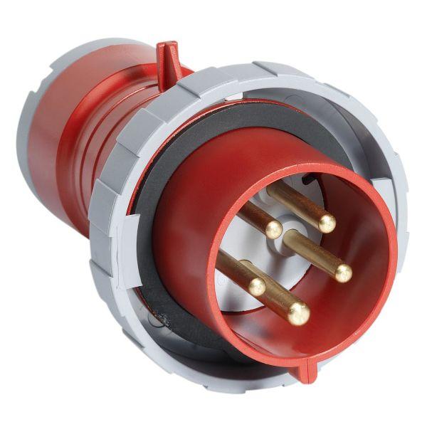 ABB 2CMA166524R1000 Pistotulppa IP67, 32 A, ruuvikiristin 5-napainen, Punainen