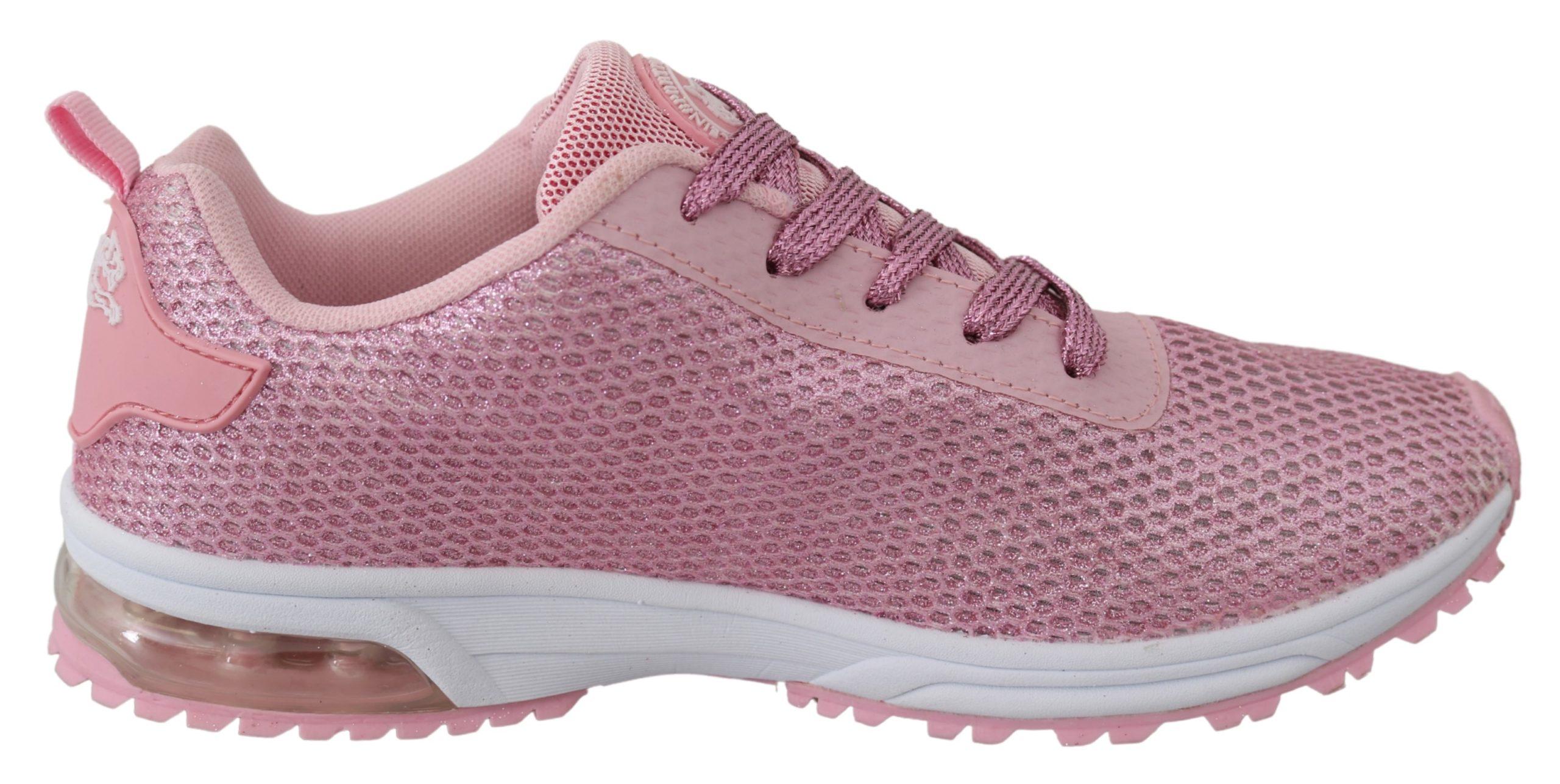 Pink Blush Polyester Gretel Sneakers Shoes - EU39/US9