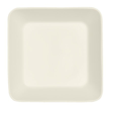 Teema Firkantet tallerken 16x16 cm hvit