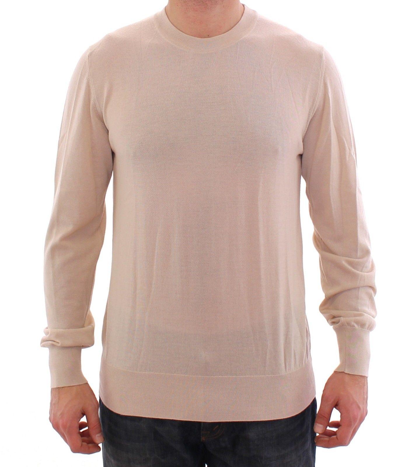 Dolce & Gabbana Men's Cashmere Crew-neck Sweater Beige GSS15035 - IT44 | XS