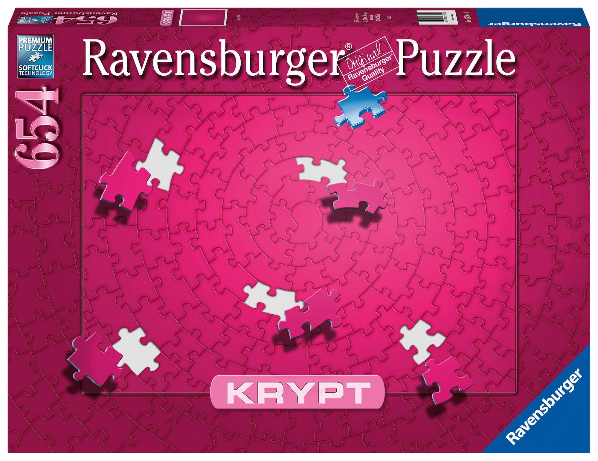 Ravensburger Pussel Krypt Pink 654 Bitar