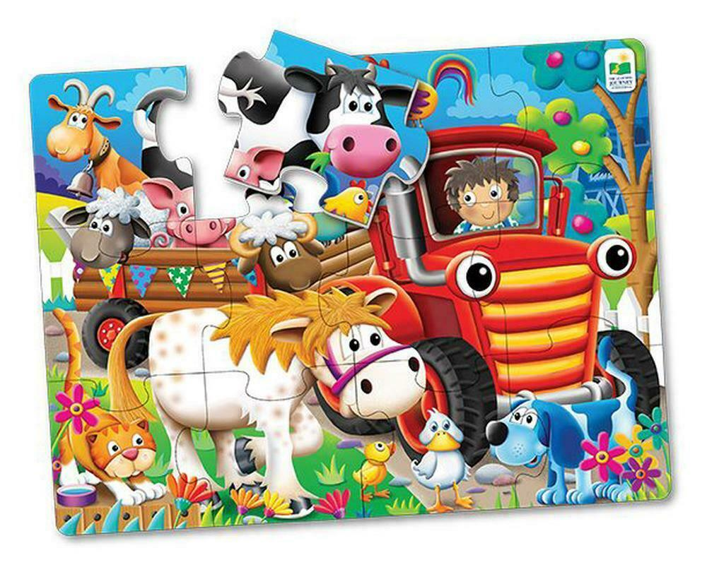 The Learning Journey - My First Big Floor Puzzle - Farm Friends (12 pcs) (107805)