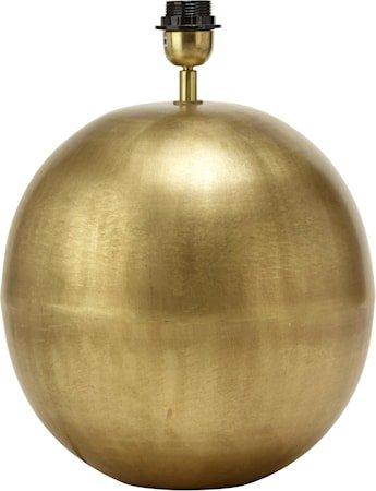 Globe Lampefot Blekt Gull 40cm