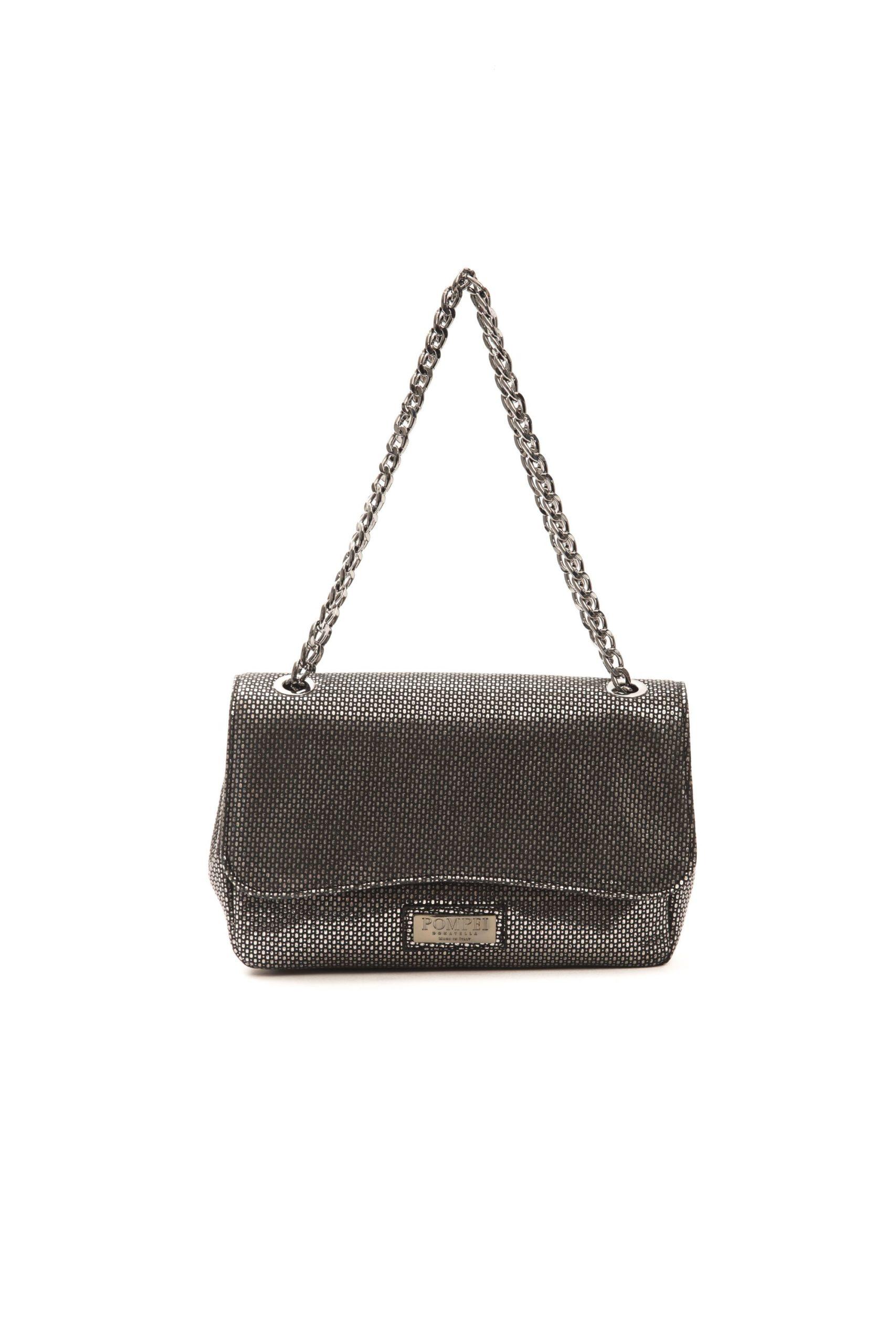 Pompei Donatella Women's Grigio Crossbody Bag Grey PO1005189