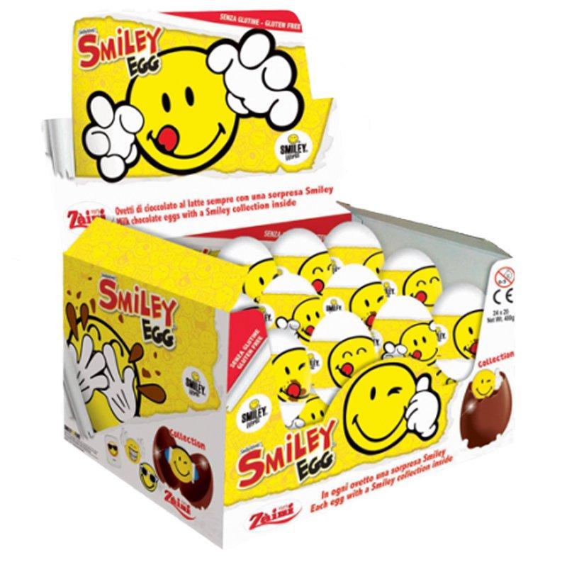 Chokladägg Smiley 24 st - 76% rabatt