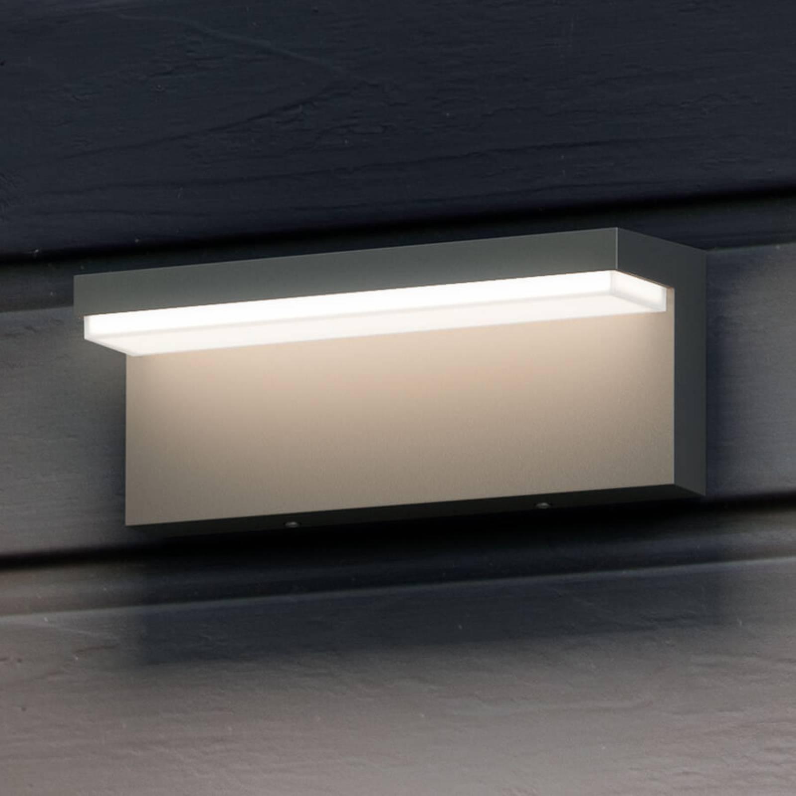 Kulmikas LED-ulkoseinävalaisin Bustan