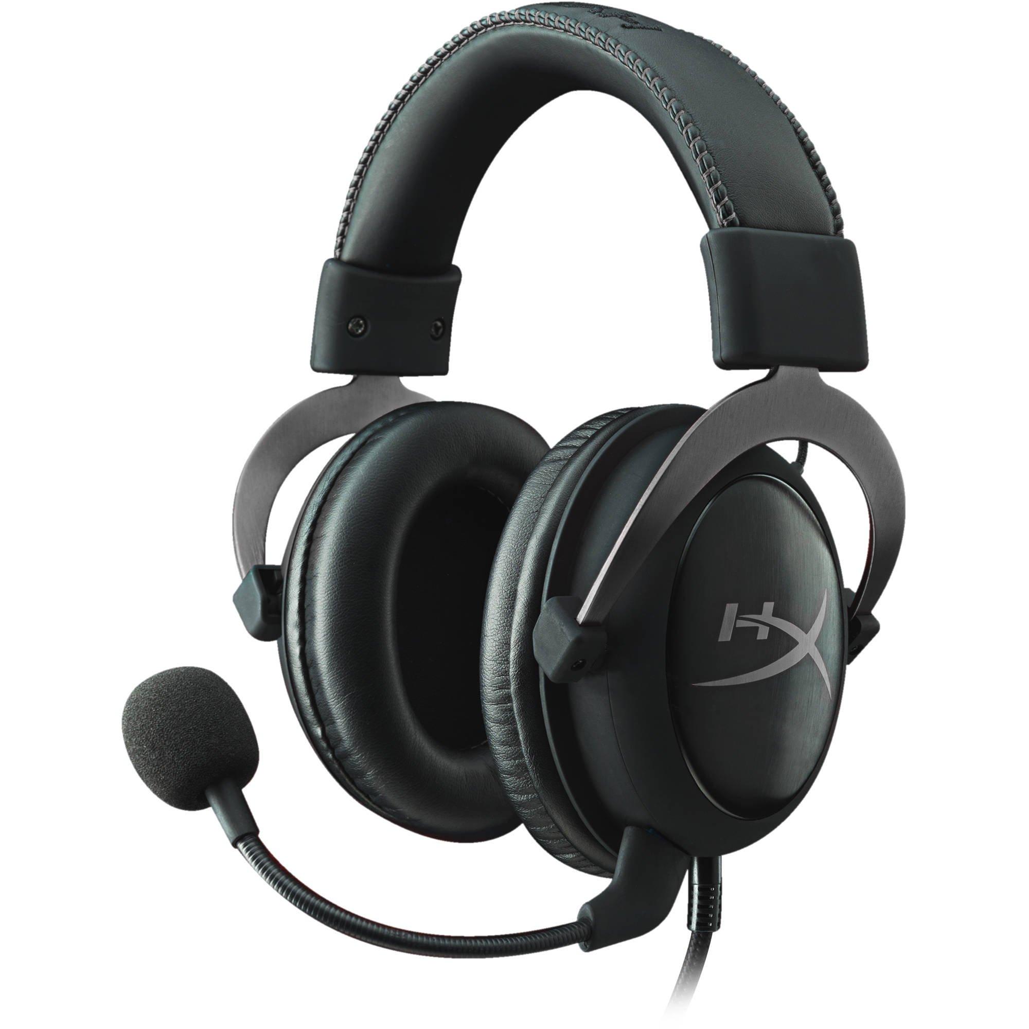 HyperX - Cloud II Gaming Headset For PC/PS4/Mac/Mobile (Grey Metal)