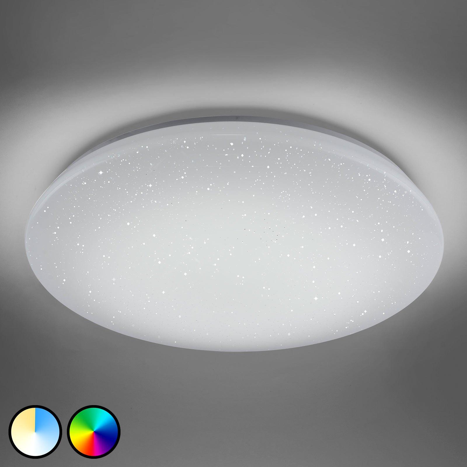 Trio WiZ Charly LED-taklampe med krystalleffekt