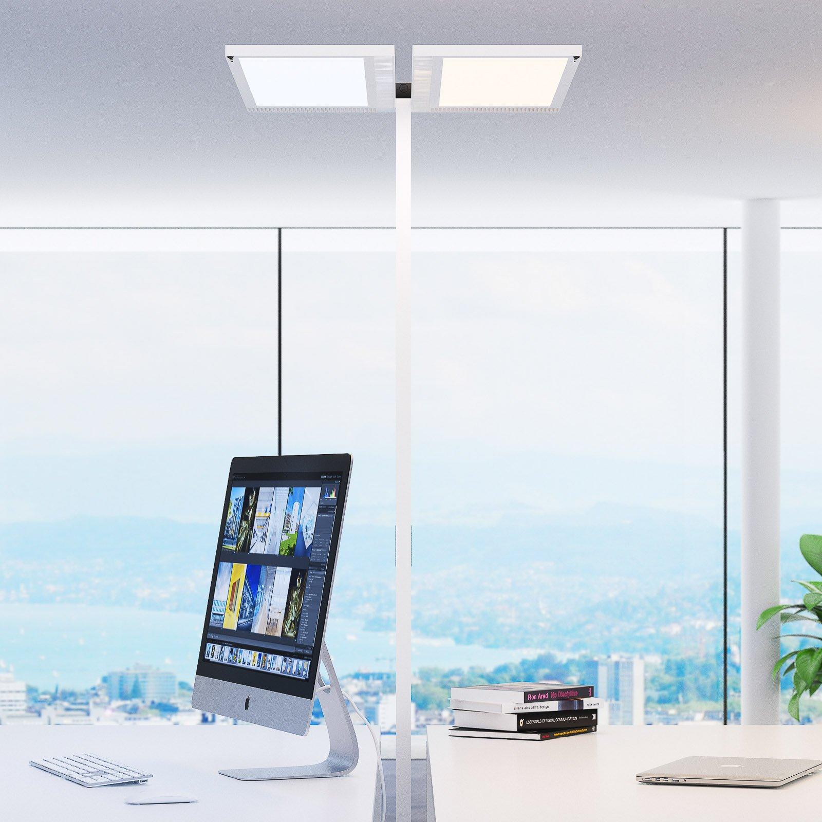 Regent Lighting Lightpad LED-sensor 1 lys fot hvit