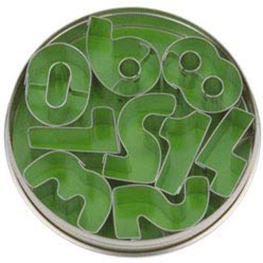 Städter Kakformar Siffror 3,5 cm - 9 st i plåtask