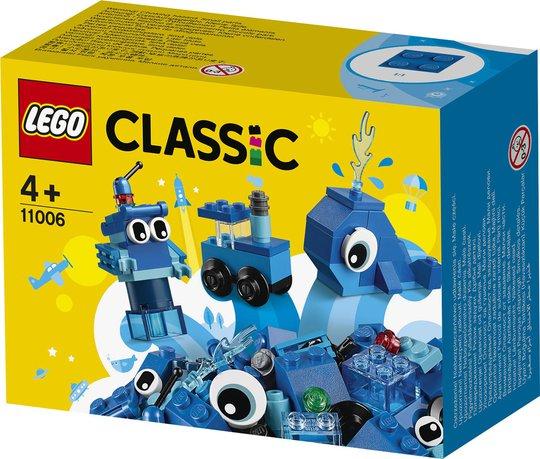LEGO Classic 11006 Blå Kreativitetsklosser