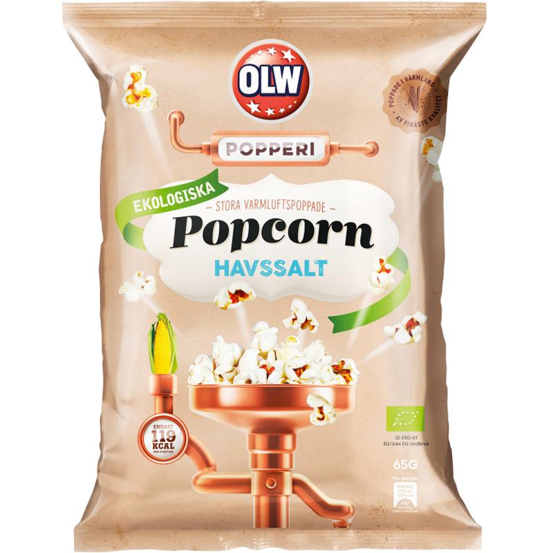 Popcorn Havssalt 65g - 23% rabatt